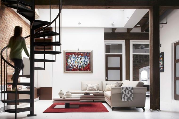 loft montreal canada manon belanger diseno salon ideas