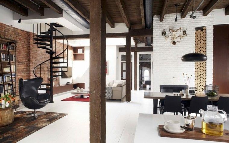 loft moderno canada amplio elegante ideas
