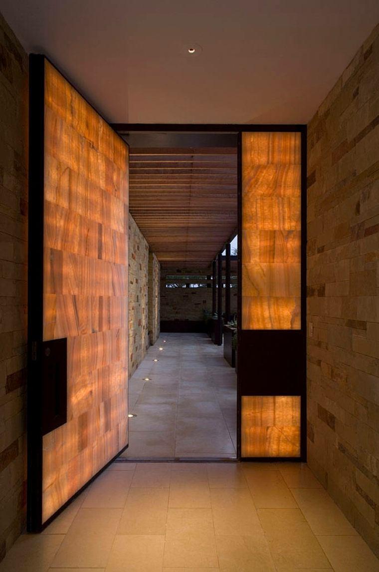 luces incorporadas paneles disenador dick clark efectos