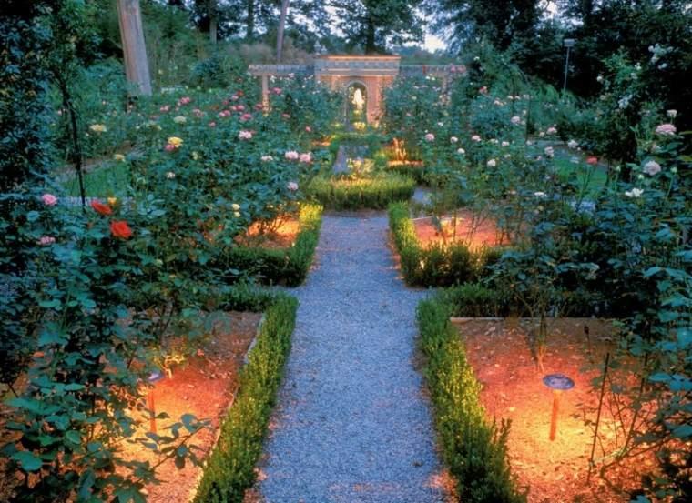 luces led parcelas jardin