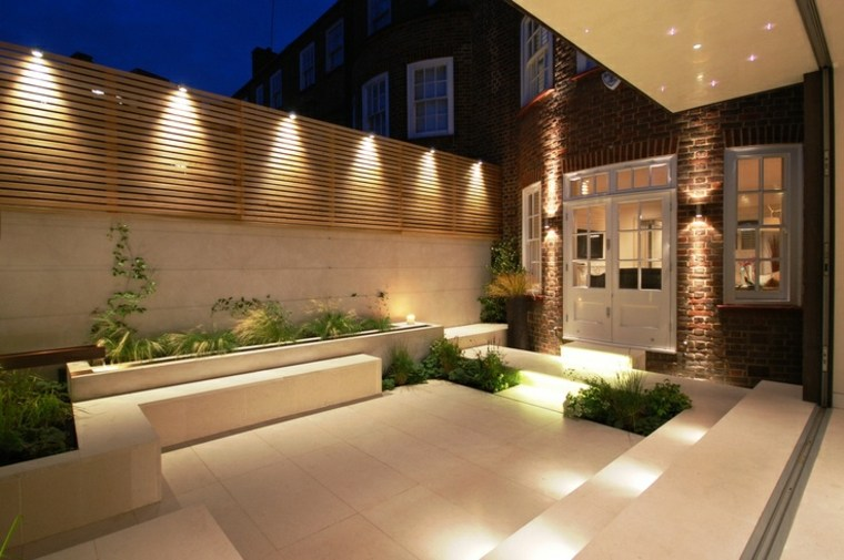 luces Led patio terraza