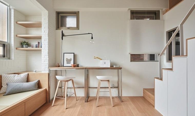 madera blanco conceptos interiores blanco