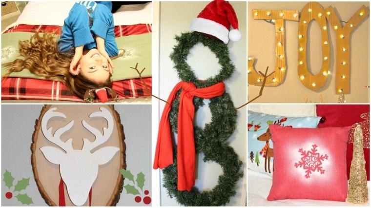 manualidad para navidad decorar