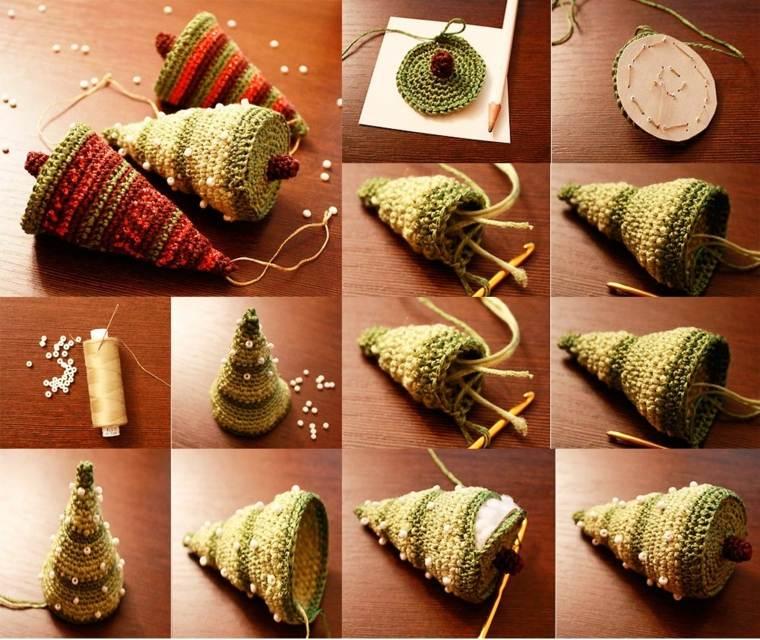 Manualidades de navidad para ni os 24 ideas divertidas - Arbol de navidad de tela ...