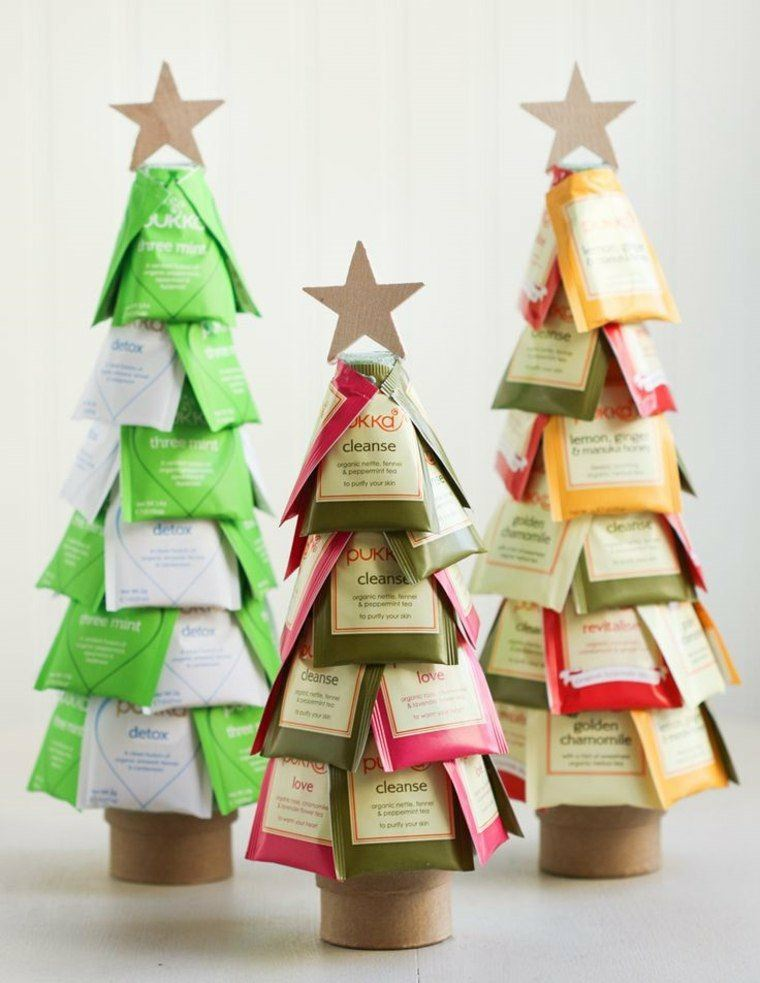 Manualidades de navidad para ni os 24 ideas divertidas - Arbol de navidad para ninos ...