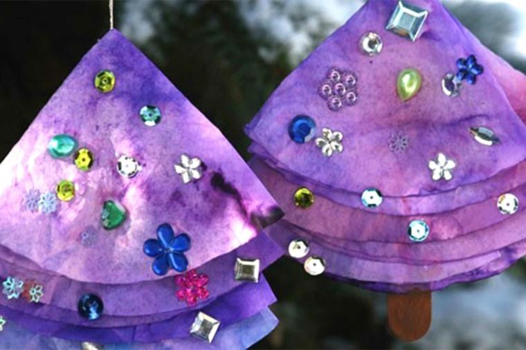 manualidades de navidad para niños decorar