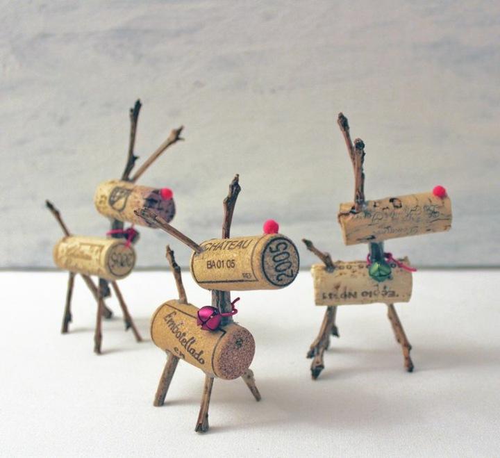manualidades navidad reciclaje efectos cuerpos