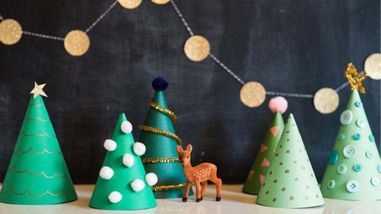 manualidades navidenas con papel decorar