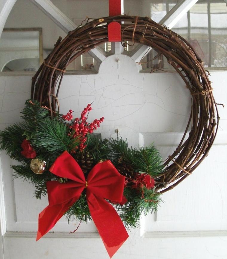 manualidades navideñas con piñas