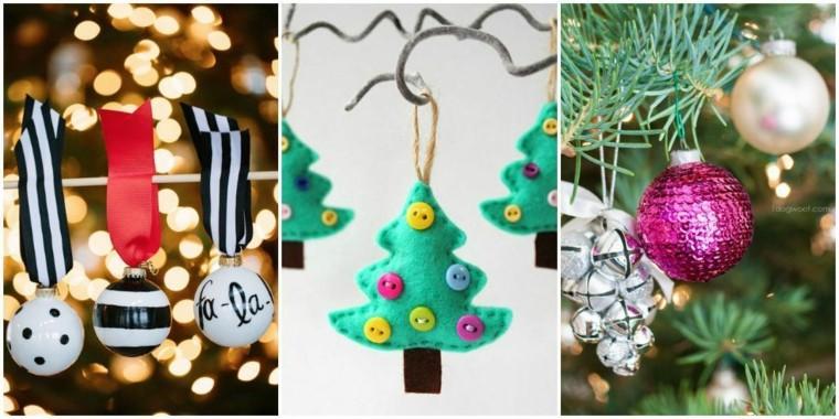 manualidades navideñas decorar árbol