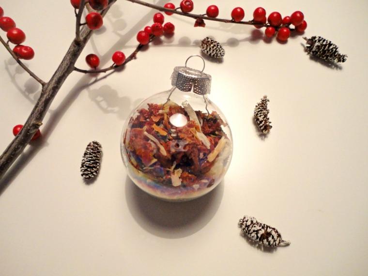 Manualidades navideñas para decorar el interior -