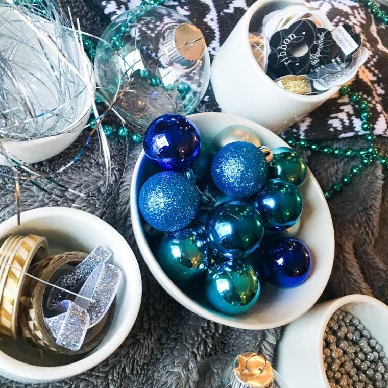 manualidades navideñas decorar muebles