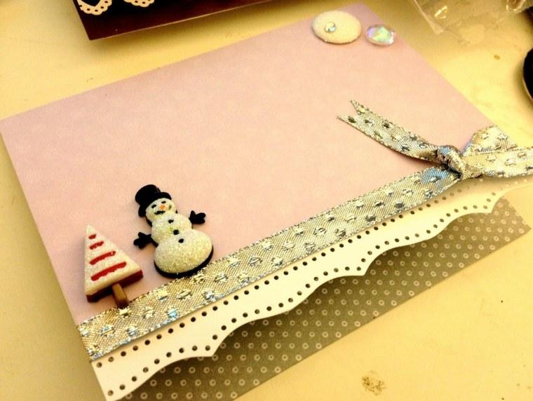 Tarjetas de navidad manualidades para casa for Adornos originales para decorar casa