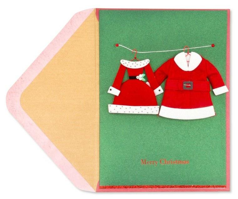 Tarjetas de navidad manualidades para casa - Tarjeta de navidad manualidades ...