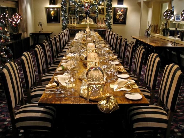 mesa navidad cena decoracion bella ideas