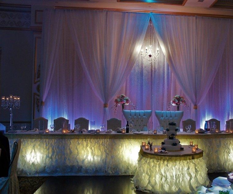 mesa novios boda invierno ideas