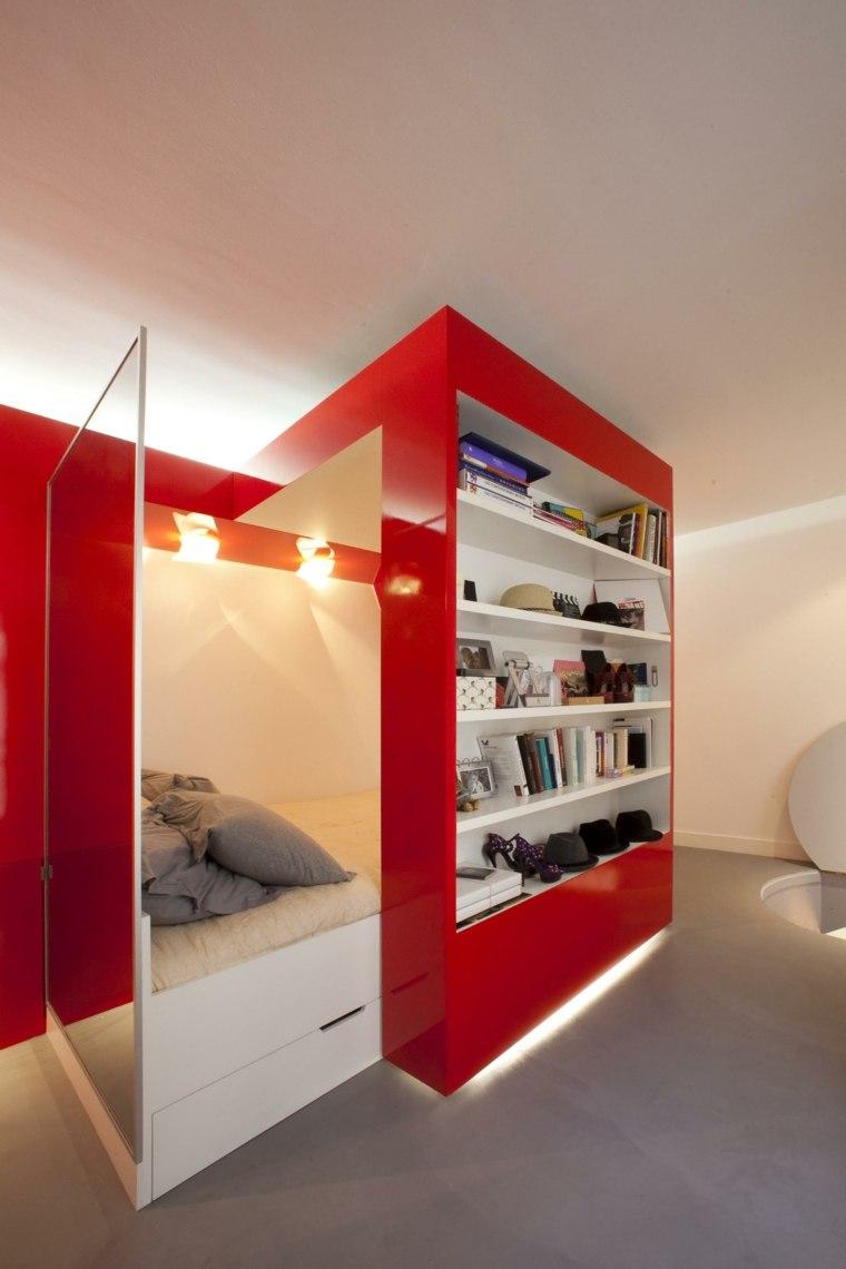 apartamento cama moderna mueble