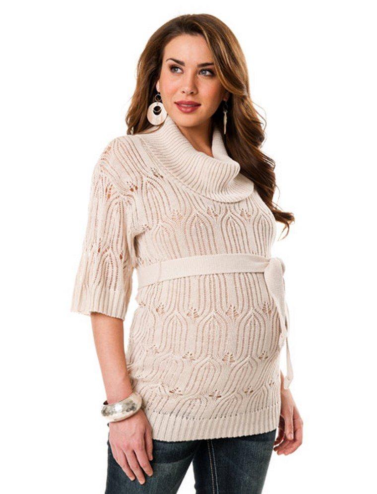 moda premama blusa comoda diseno invierno ideas