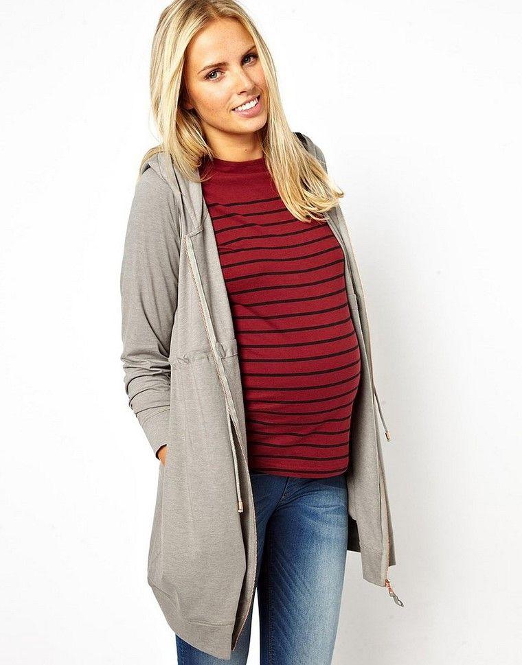 moda premama diseno invierno embarazadas ropa comoda ideas