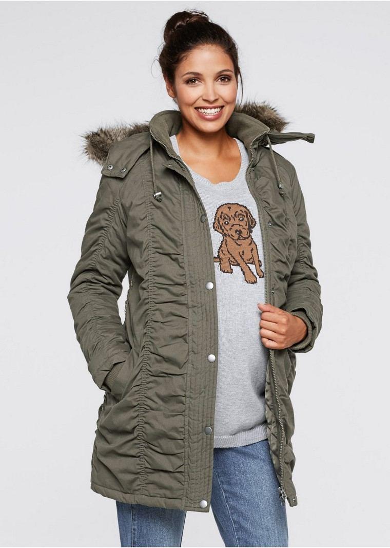 moda premama diseno invierno ideas modernas