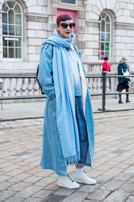 moda premama diseno invierno ropa vaquera ideas