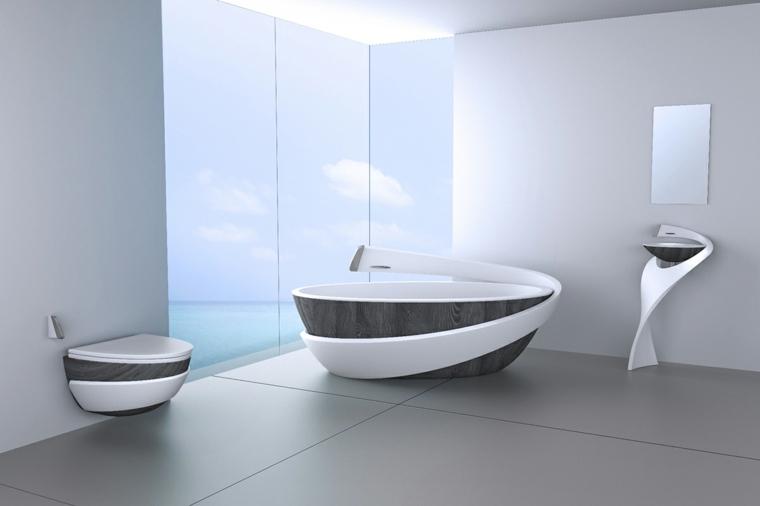 moderno futurista estilo conceptos muestras