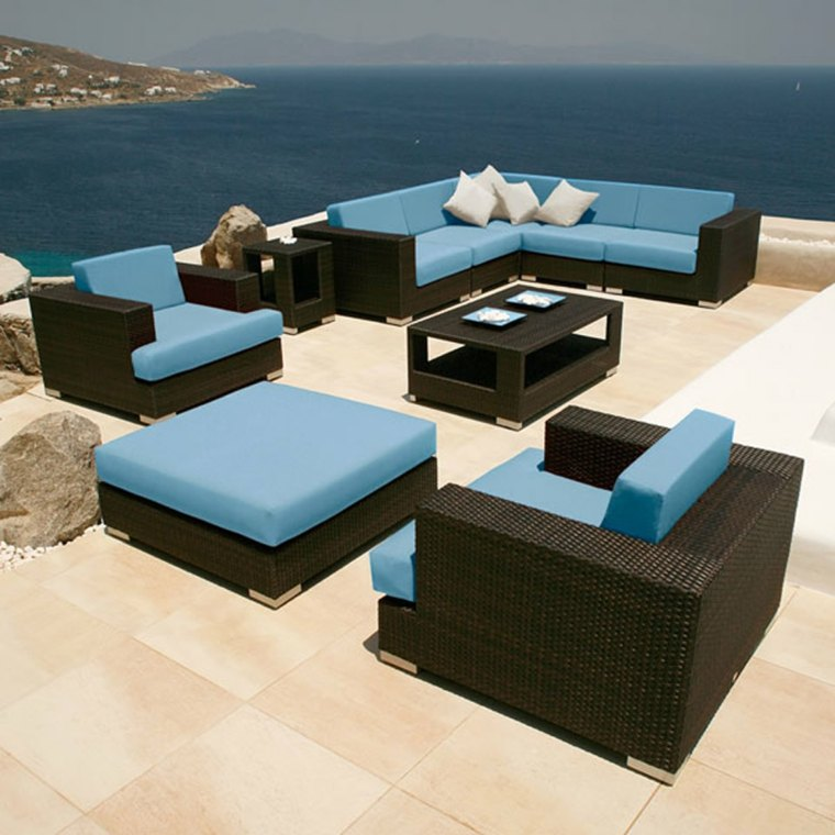 muebles de jardín y terraza decorar