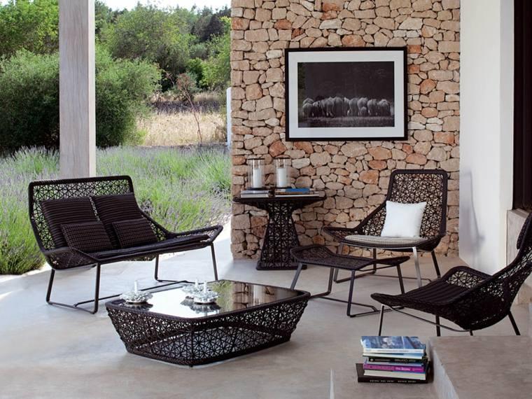 muebles de terraza y jardín decorar exterior