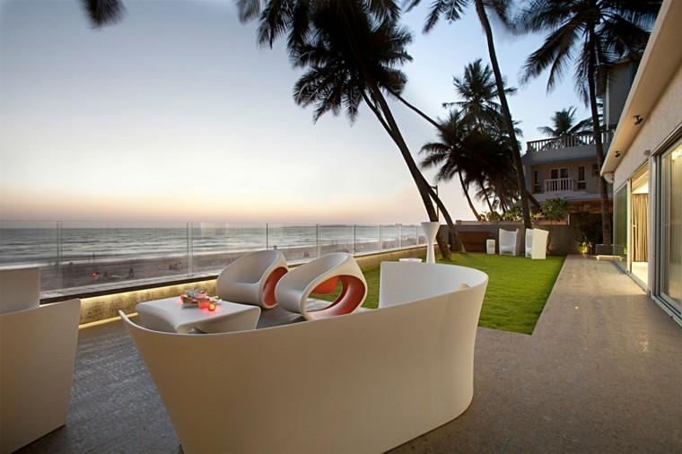 muebles de terraza y jardín elegantes decorar