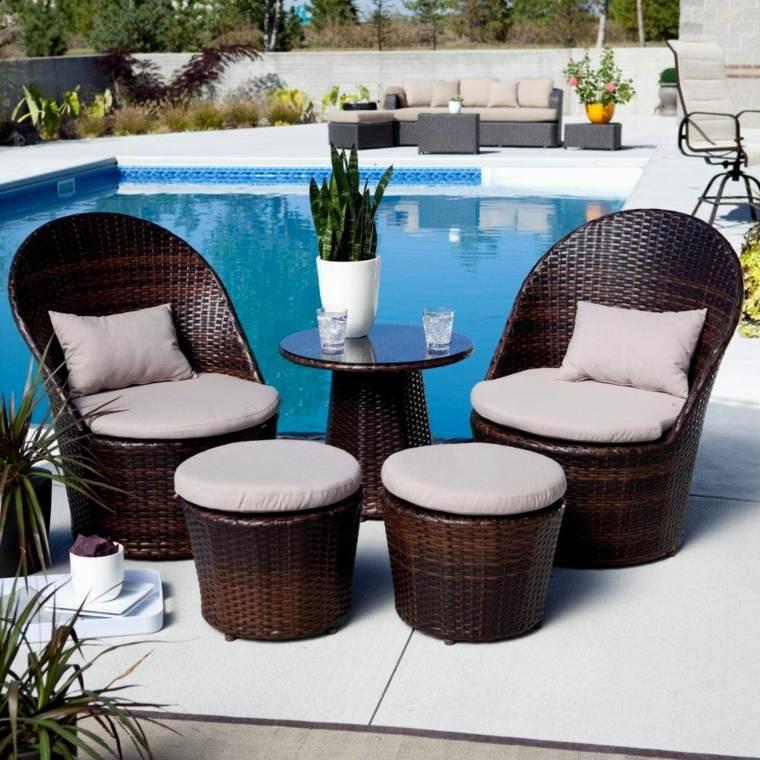 muebles jardín y terraza decorar