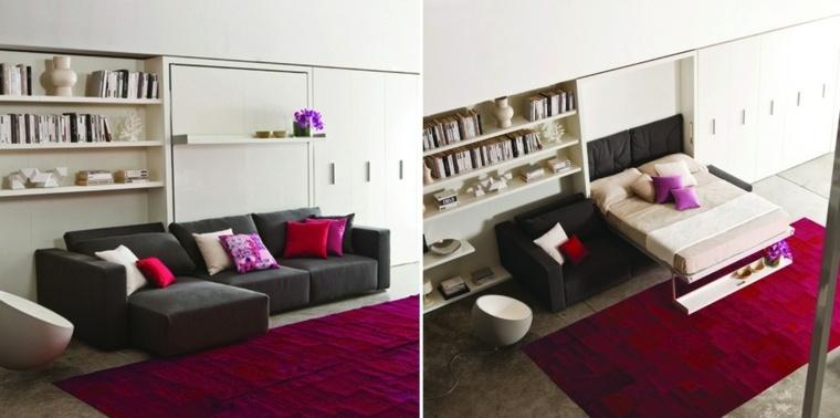 Muebles para ahorrar espacio en el interior for Ideas muebles para poco espacio