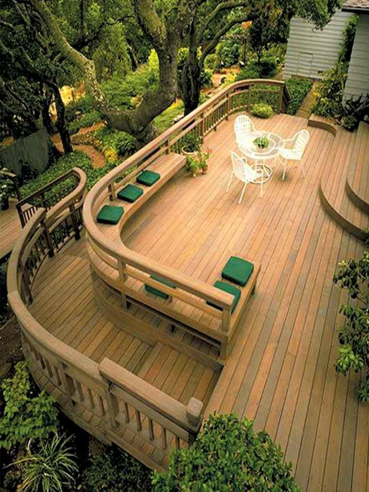 muebles para terraza exterior decorar