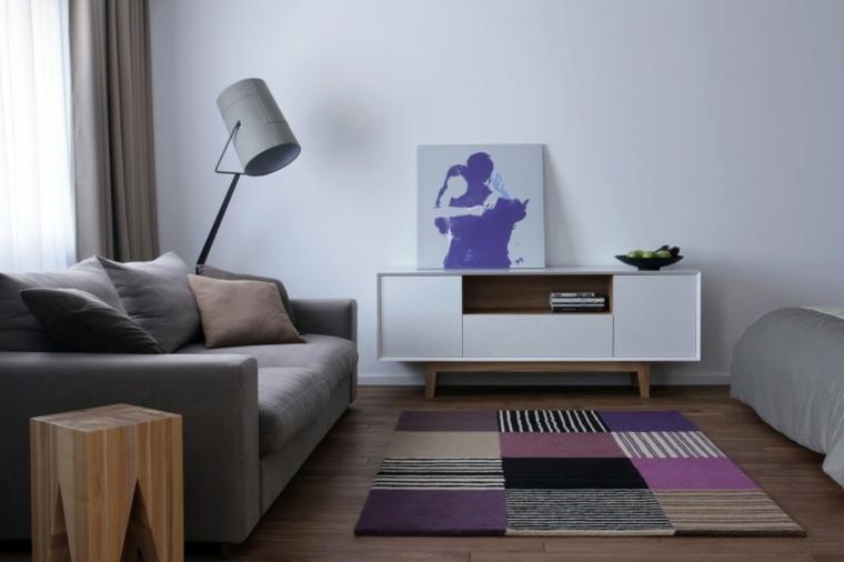 muebles salon apartamento diseno lugerin architects ideas