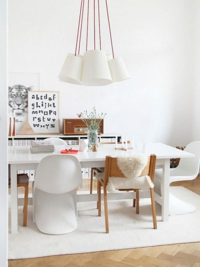origina silla color blanco