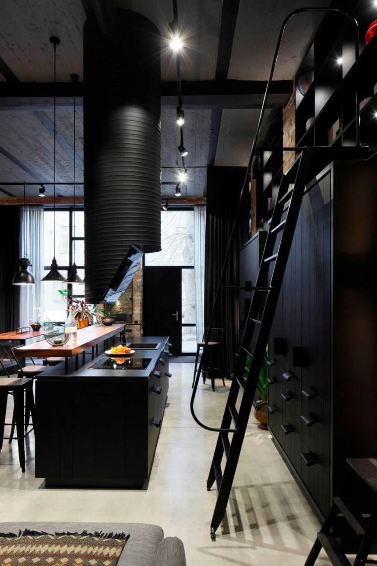 original diseño cocina estilo industrial