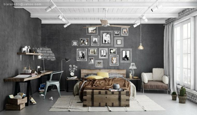 original habitación Blalank Studio