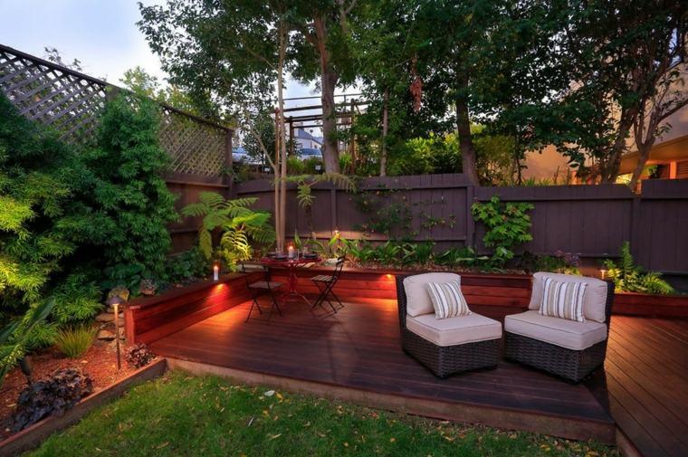 original iluminacin exterior patio terraza