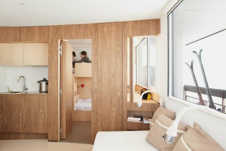 original interior pequeño madera