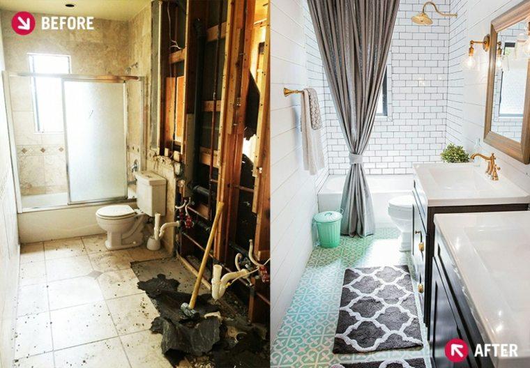 original remodelación baño pequeño