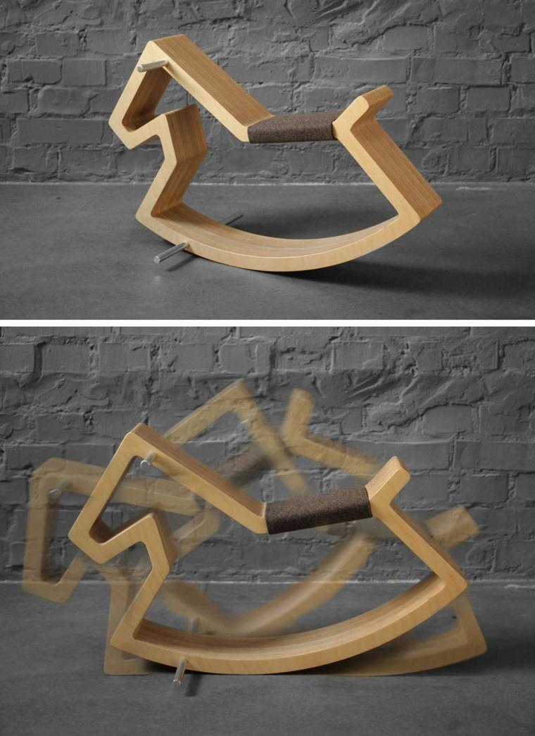 original caballo balancin diseño minimalista