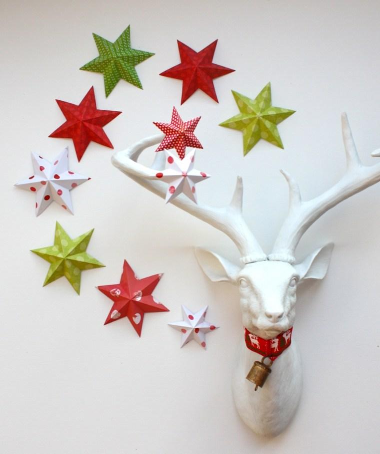 original decoración pared estrellas