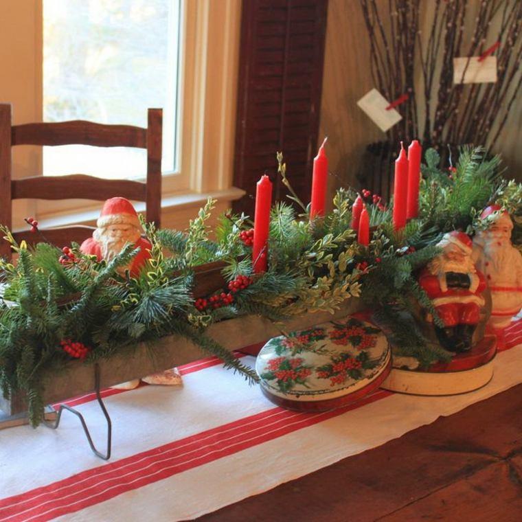 original decoración mesa navidades