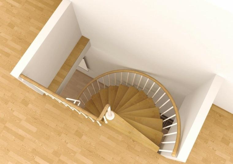 original diseño escalera caracol interior