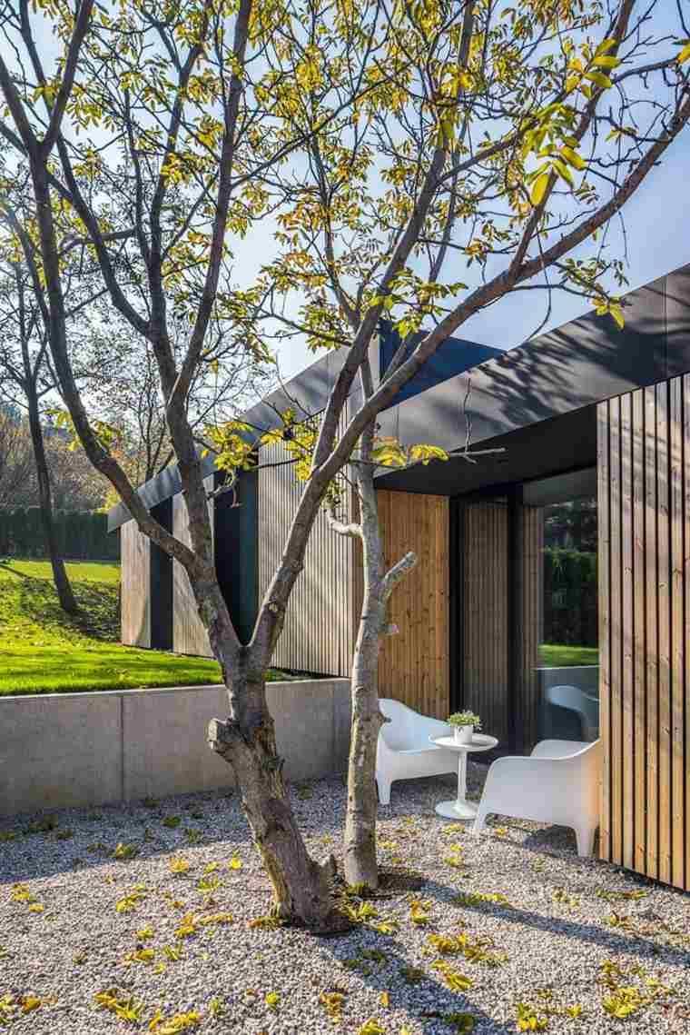 original diseño patio moderno