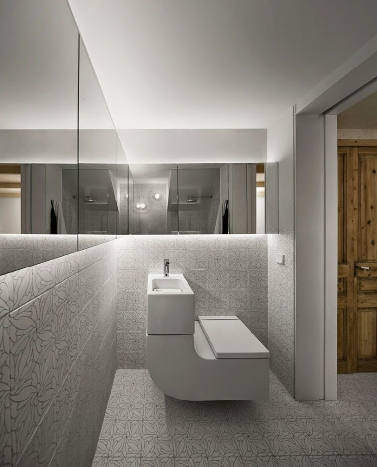 Iluminacion led indirecta para interiores 42 ideas - Iluminacion banos pequenos ...
