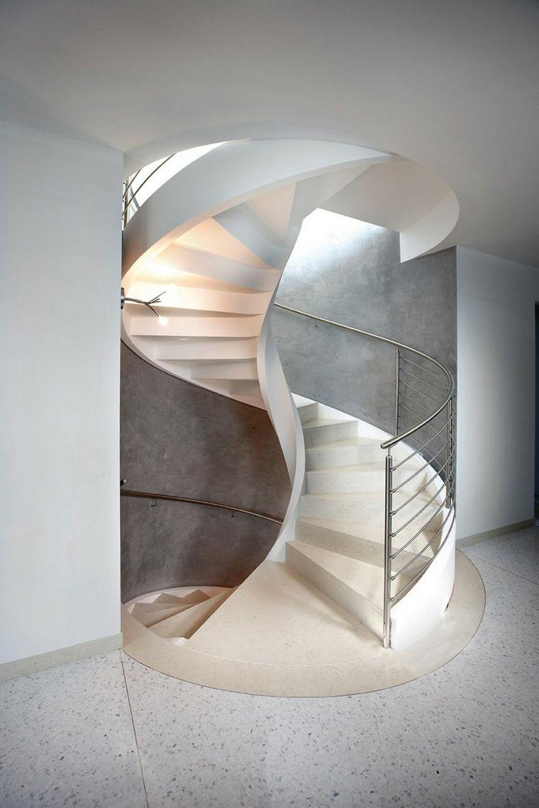 original diseo escalera caracol moderna - Escaleras De Caracol