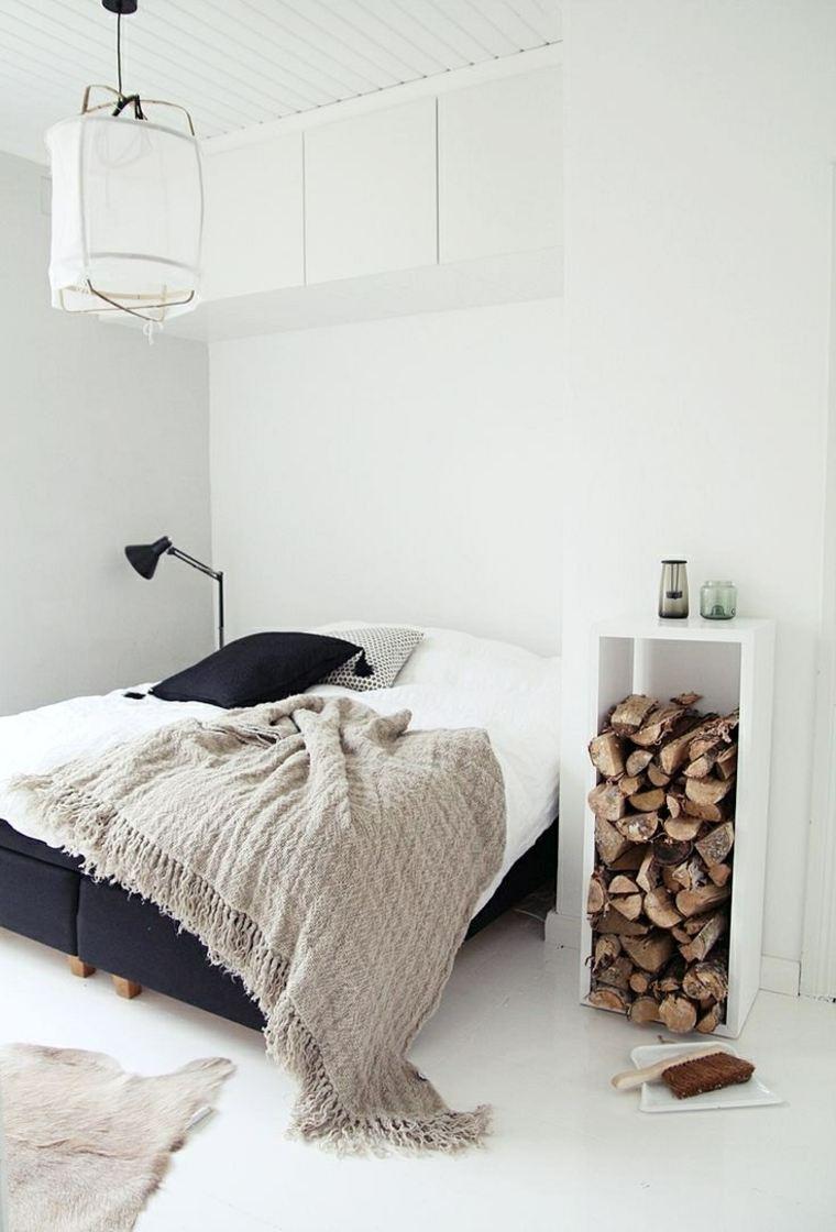 estupenda decoración habitación nórdica
