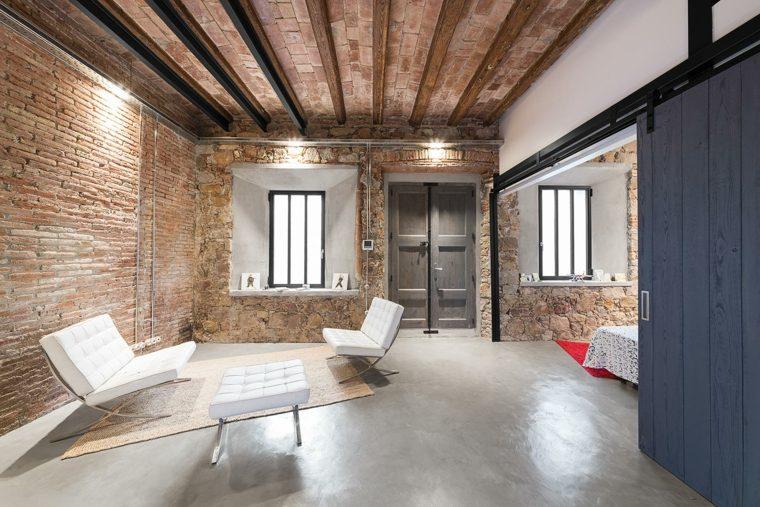 original sala estar industrial