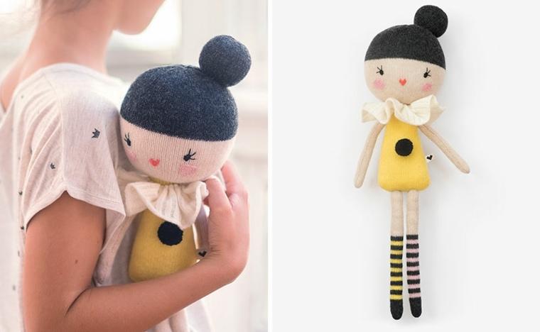 original diseño muñeca trapo