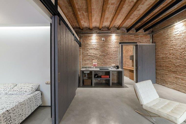 original interior suelo madera